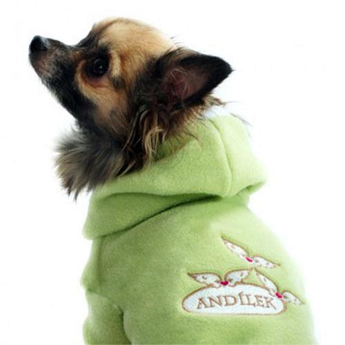 Psí obleček Andílek zelený