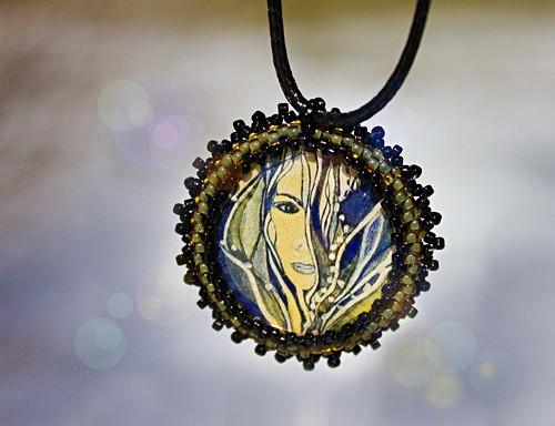 Zralost - medailonek, talisman