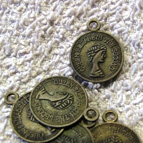 mince  -  přívěsky - 5 ks