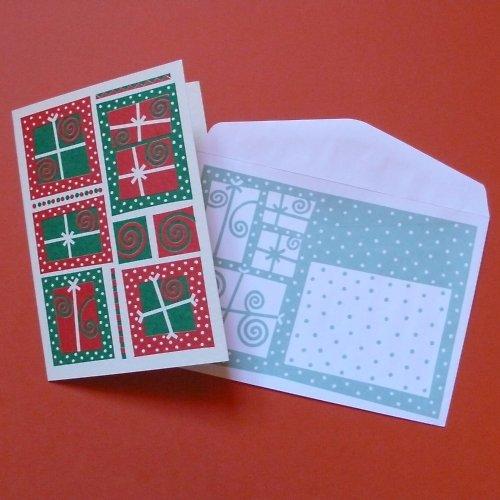 vánoční dárečková přání - 20 ks+obálky