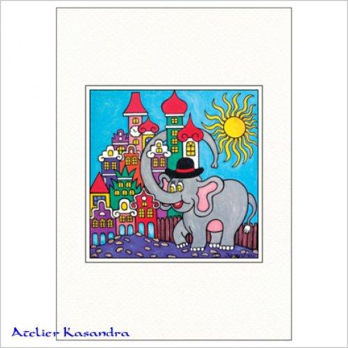 Pasparta A3 - Chudák slon ve městě