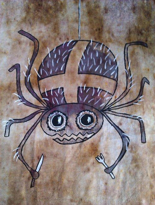 Tričko s pavoukem (výprodej, sleva z 299,-)