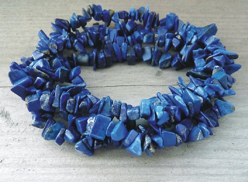 Lapis lazuli tmavší, návlek cca 20 cm