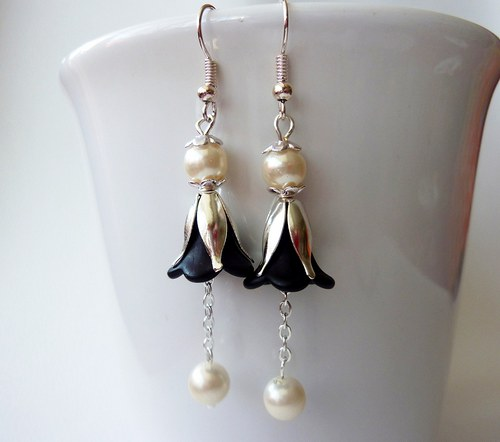 Elegantní zvonky s perličkou