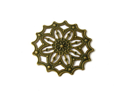 2902703/Filigránový ornament jemný, 1 ks