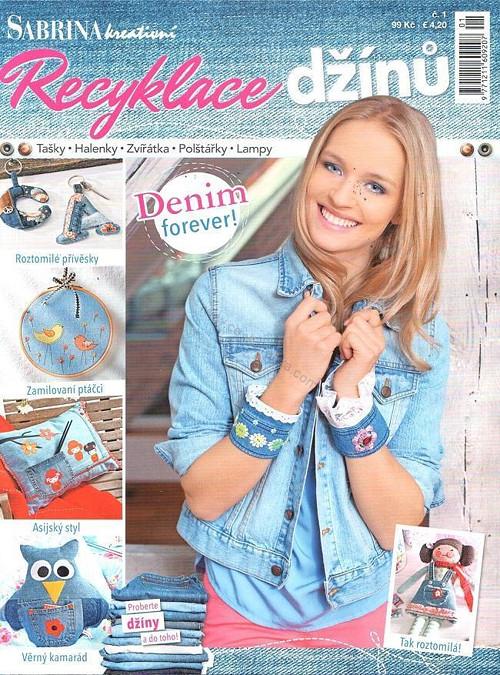 Časopis SABRINA Recyklace džínů