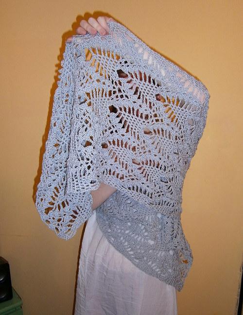 Kouzelný háčkovaný šál