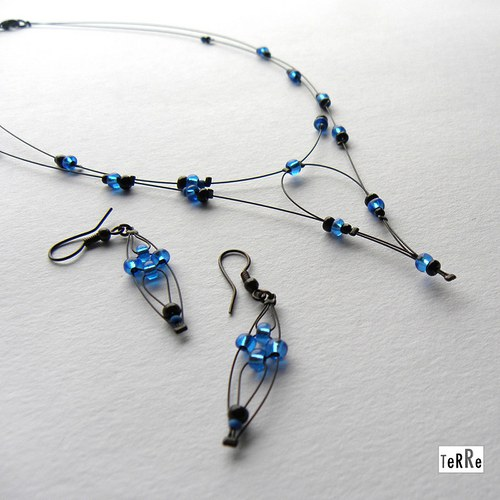 Modré korálky