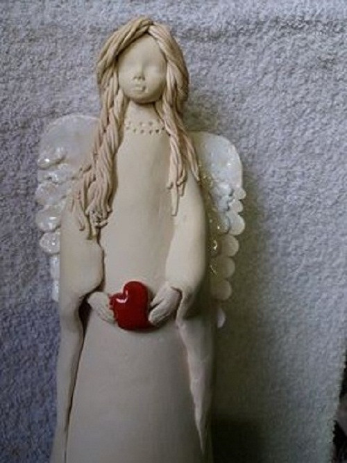 Keramická panenka Laura