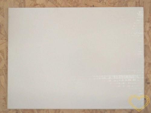 Malířská deska s našepsovaným plátnem 30 x 40 cm