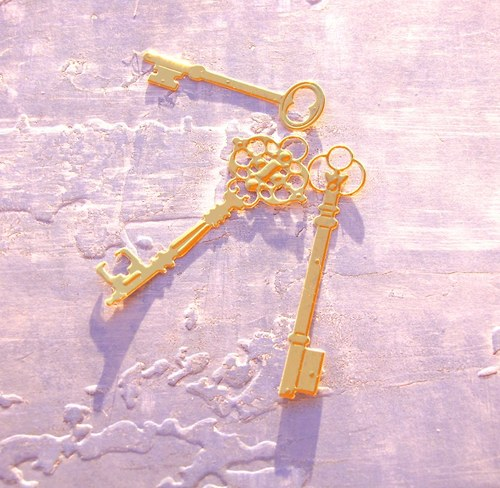 Tři klíčky (zlaté)