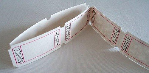 Kartičky s čísly Tombolové lístky dekorace cedulky