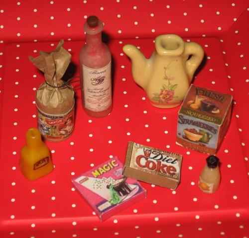kuchyňské doplňky pro panenky