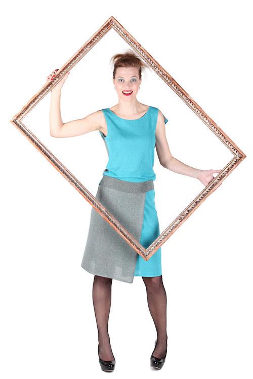Třpytivá sukně JINA