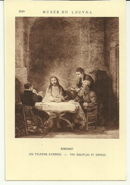 Umělecká pohlednice Rembrandt