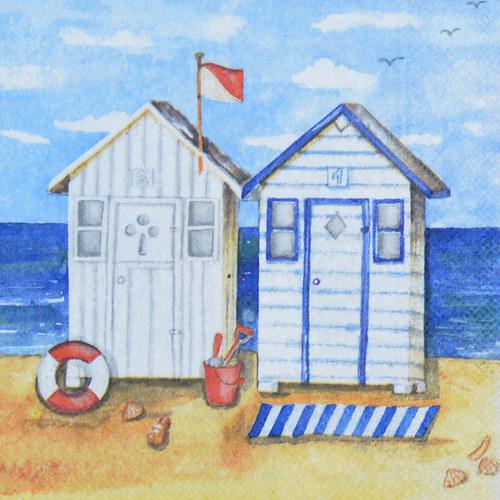 Ubrousek - léto,pláž