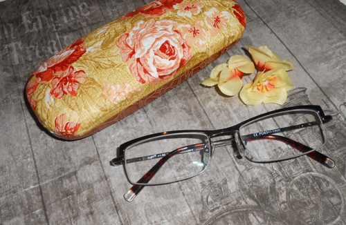 Pouzdro na brýle - Rose