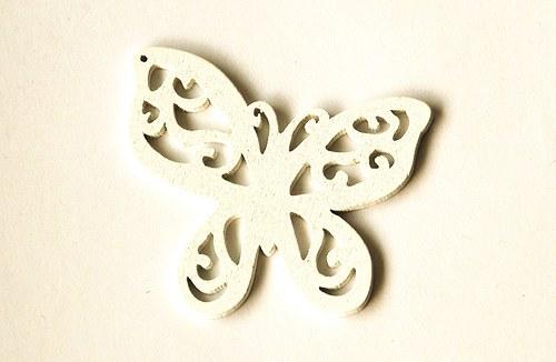 dřevění motýlci- bílí