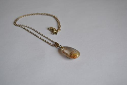 Zrození - náhrdelník - stříbro a křišťál