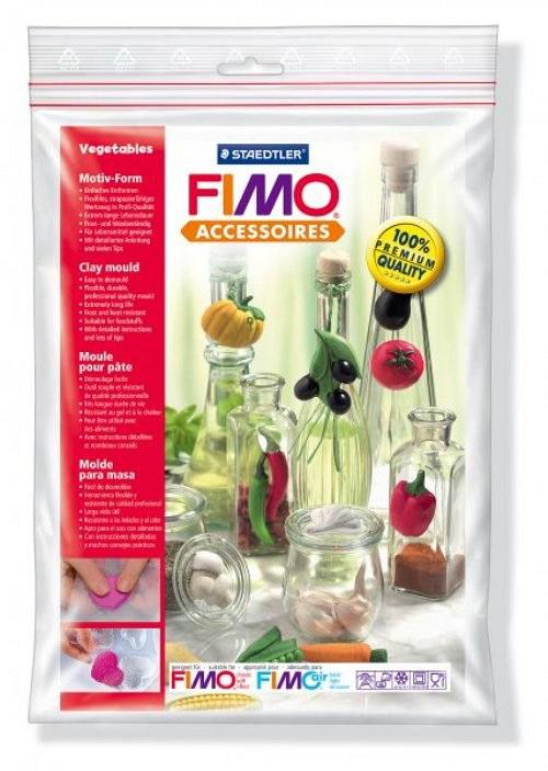 Formy na Fimo / silikonové / Zelenina