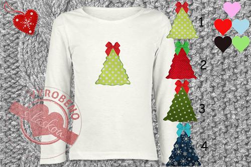 Dětské triko - vánoční stromeček