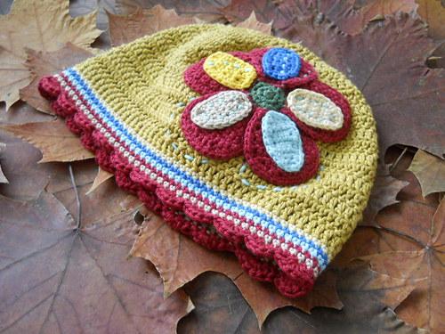 Podzimní,jarní čepička