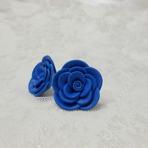 MAXI růžičky  modré