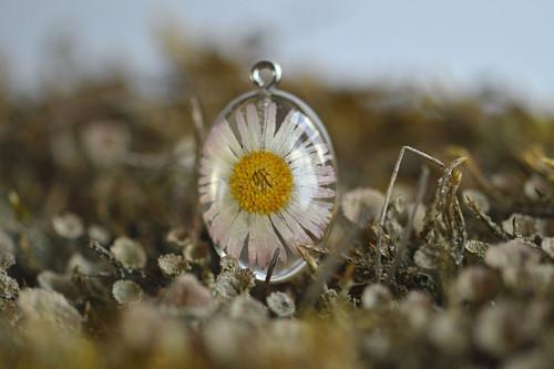 Přívěsek Pravý květ