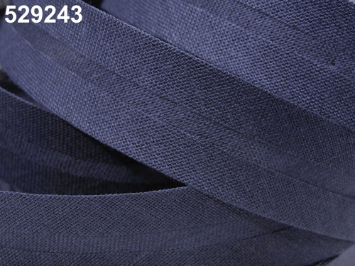 Šikmý proužek bavlněný 14 mm zažehlený - 25 m