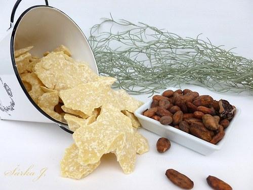 KAKAOVÉ máslo NATURAL bez vůně