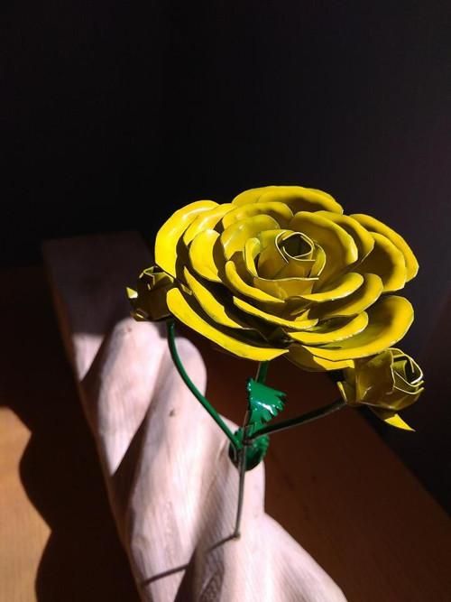 plechvá růže .... na výběr z růžných barev