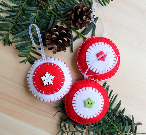 Vánoční ozdaba - koulička, baňka