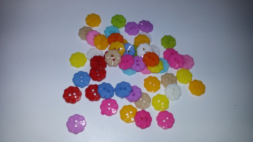 Dekorativní knoflíčky 13 mm