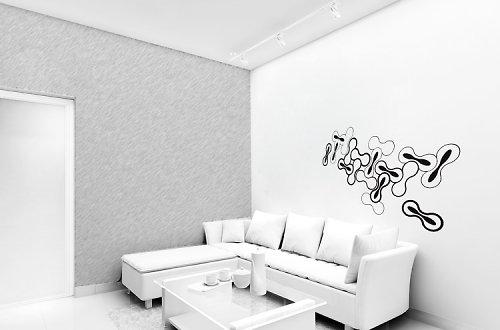 Microlife 3d - samolepka na zeď