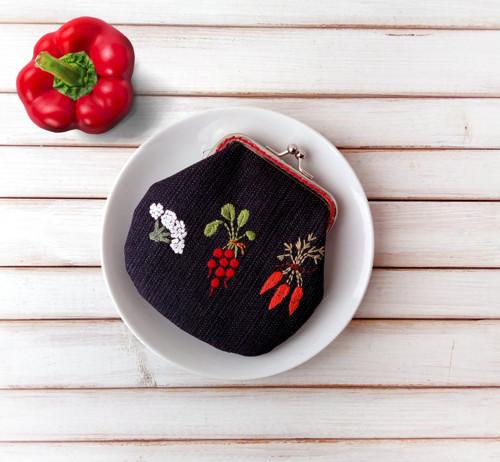 Peněženka M Zelenina na černé