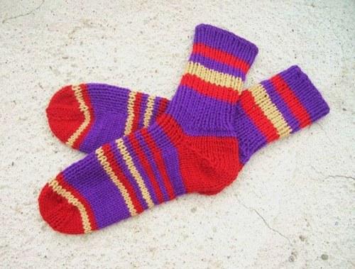 Ponožky velikost 24-26 cm