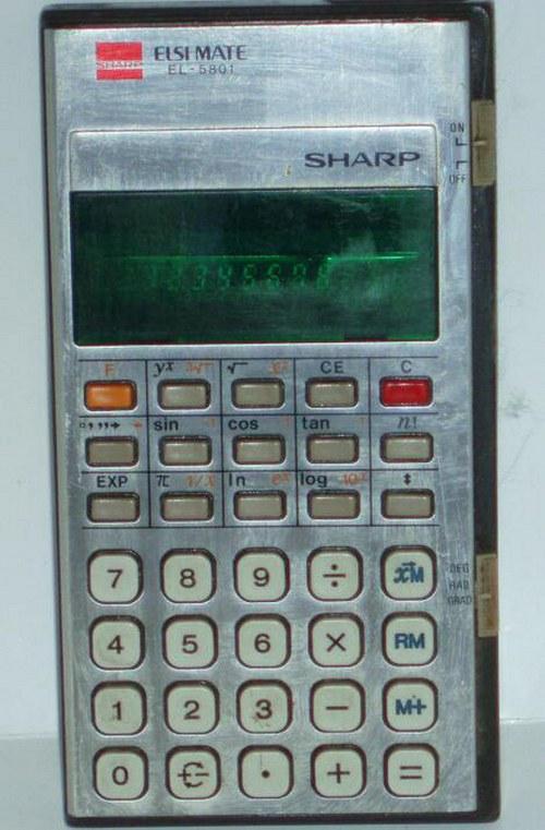 Vědecká kalkulačka - SHARP ELSI MATE EL-5801