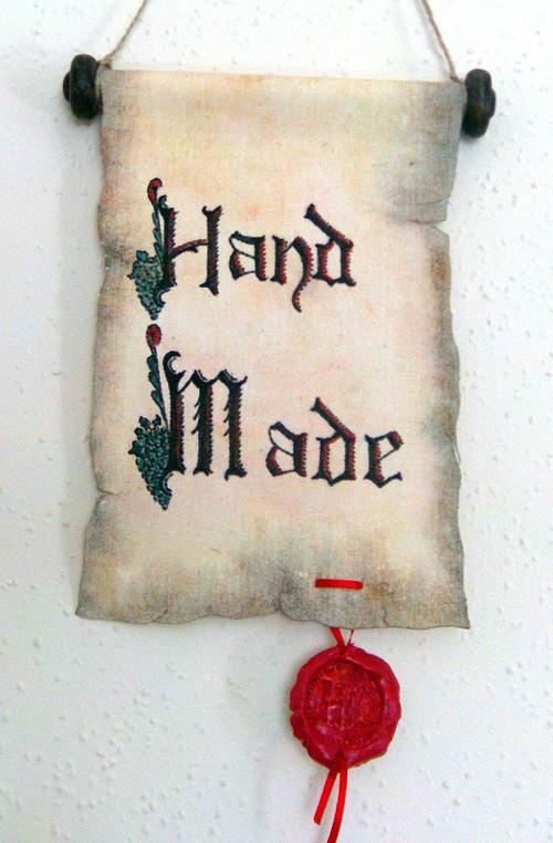 Cedulka Hand Made