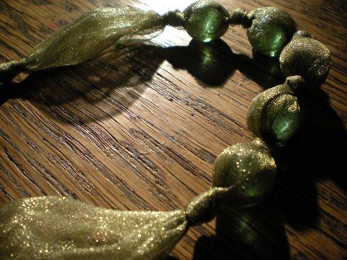 olivový náhrdelník