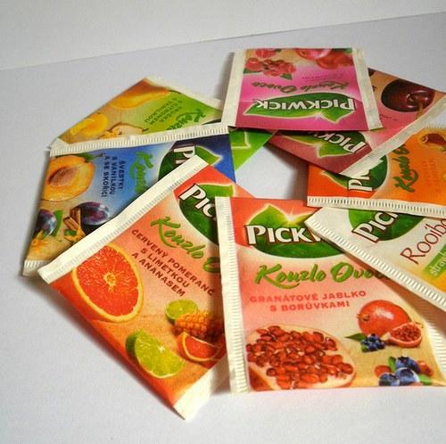 Mix 98 různých čajových sáčků na tea bag folding