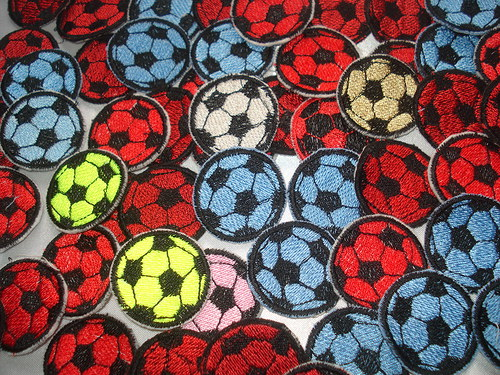 Fotbalová nášivka-míč