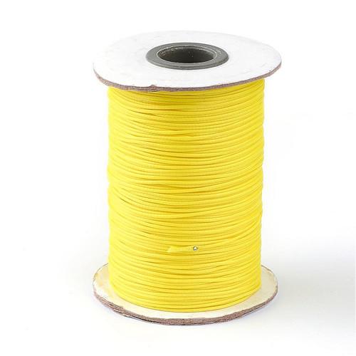 Nylonová šňůrka pr.1mm (10m) - Yellow
