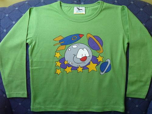 Tričko vesmír - ! SLEVA !