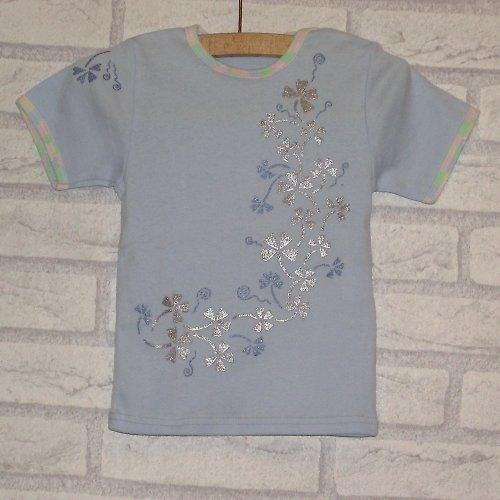 Baby tričko čtyřlístkové   /80/