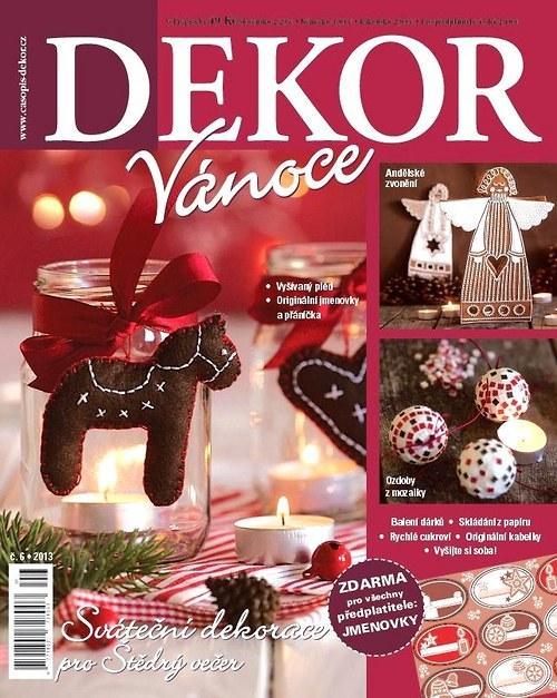 časopis DEKOR 6/2013
