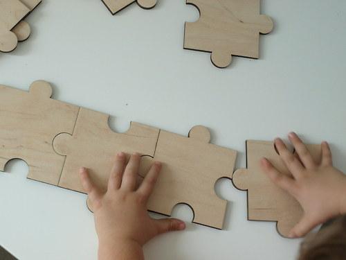 Svatební puzzlík 50 a více kusů