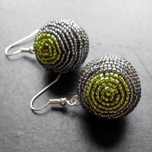 Korálkovky šedo zelené
