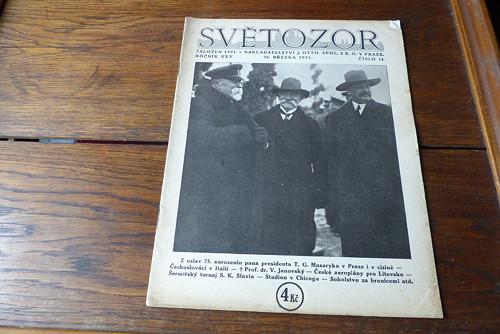 Časopis Světozor 14/1925