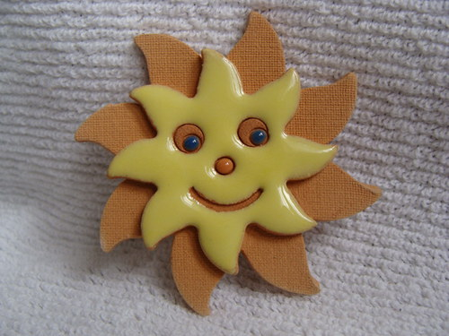 magnetka sluníčko