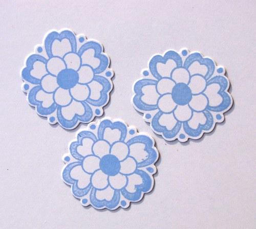 Květy - 3 ks